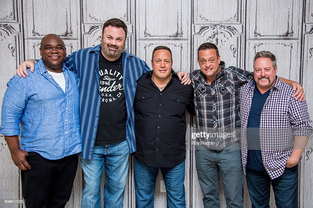 Actors Earl Howze Chris Roach Kevin James Lenny Venito And Gary Valentine  Attend U0027Kevin Can