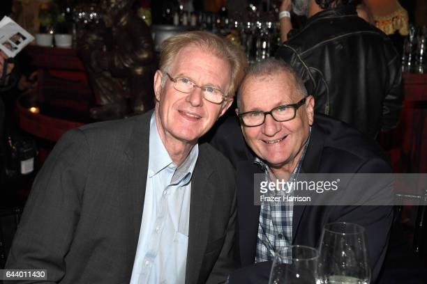 Actors Ed Begley Jr and Ed O'Neill attend the 14th Annual Global Green Pre Oscar Party at TAO Hollywood on February 22 2017 in Los Angeles California
