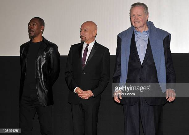 """Actors Eddie Murphy, Ben Kingsley and Jon Voight speak at the """"Prince of Persia: The Sands of Time"""" Los Angeles Premiere held at Grauman's Chinese..."""
