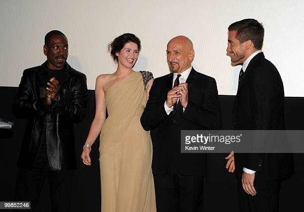 "Actors Eddie Murphy, Gemma Arterton, Sir Ben Kingsley, and Jake Gyllenhaal arrive at the premiere of Walt Disney Pictures' ""Prince Of Persia: The..."