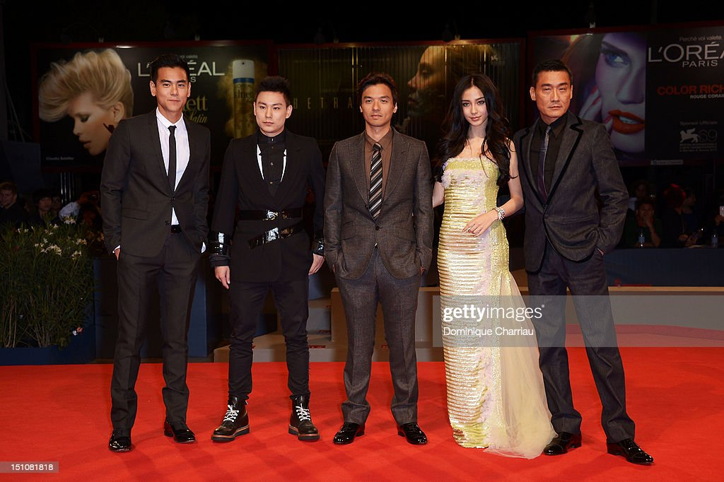 """""""Tai Chi O"""": Premiere - The 69th Venice Film Festival"""