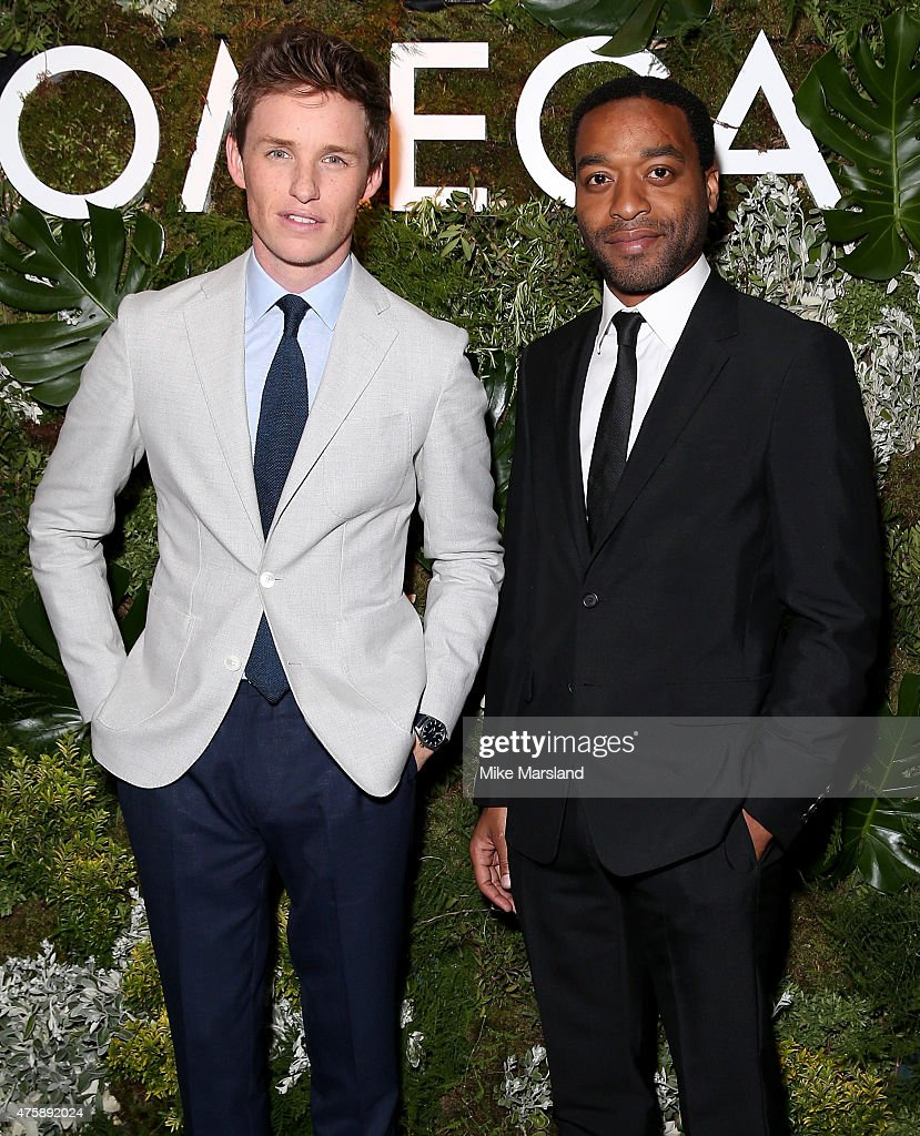OMEGA And Eddie Redmayne Announcement Event : News Photo