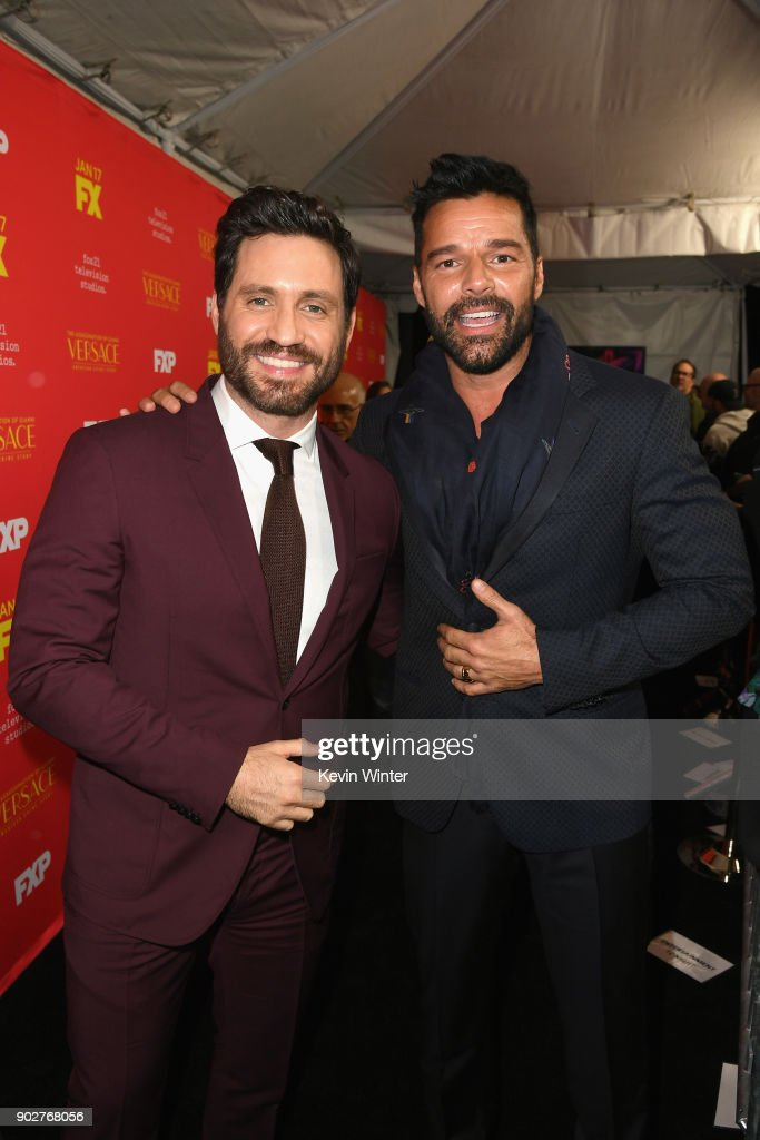 """Premiere Of FX's """"The Assassination Of Gianni Versace: American Crime Story"""" - Red Carpet : News Photo"""