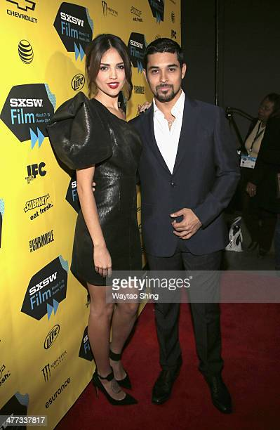 Actors Eiiza Gonzalez and Wilmer Valderrama at 'From Dusk Till Dawn The Series' Pilot Photo Op and QA during the 2014 SXSW Music Film Interactive...