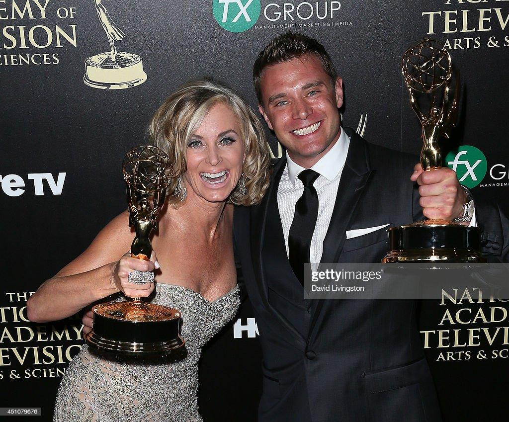 41st Annual Daytime Emmy Awards - Press Room : News Photo