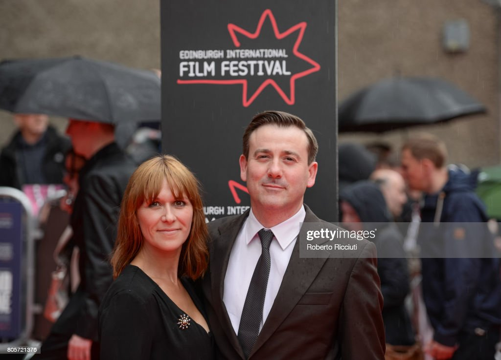 Actors Elianne Byrne and Graeme Hawley attend the world premiere for 'England is mine' and closing event of the 71st Edinburgh International Film Festival at Festival Theatre on July 2, 2017 in Edinburgh, Scotland.
