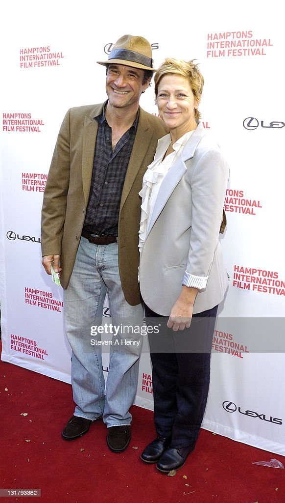 Actors Elias Koteas And Edie Falco Attend The U00273 Backyardsu0027 Premiere During  The 18th