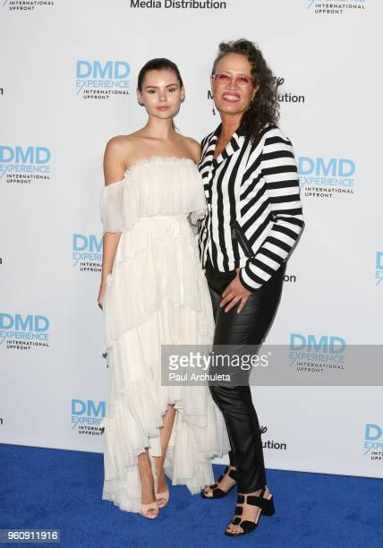 Actors Eline Powell and Rena Owen attend the Disney/ABC International Upfronts at the Walt Disney Studio Lot on May 20 2018 in Burbank California