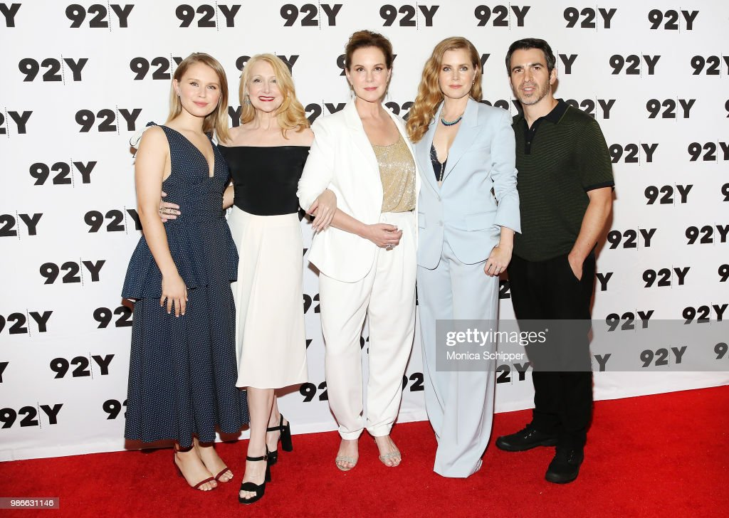 Actors Eliza Scanlen, Patricia Clarkson, Elizabeth Perkins, Amy Adams and Chris Messina attend HBO's 'Sharp Objects' New York Screening And Conversation at 92nd Street Y on June 28, 2018 in New York City.