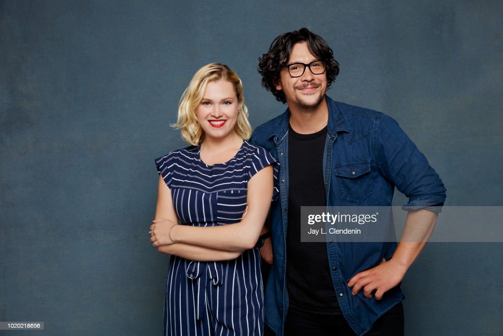 Actors Eliza Taylor And Bob Morley From The 100 Are Photographed