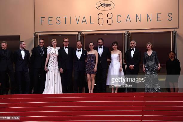 Actors Elizabeth Debicki David ThewlisMichael FassbenderMarion Cotillard Director Justin Kurzel Actress Essie Davis and Producer Iain Canning attend...