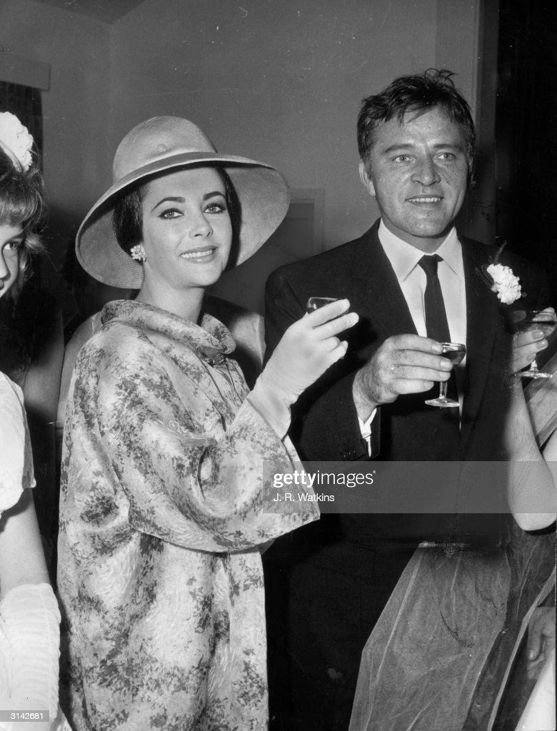 Elizabeth Taylor Richard Burton Wedding Pictures and Photos Getty