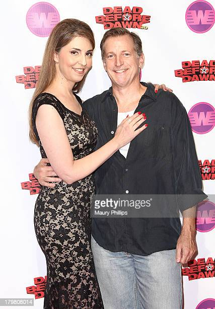 Actors Ellen Dubin and Bill Lippincott arrive at Dead Before Dawn 3D premiere at Mann Chinese 6 on September 6 2013 in Los Angeles California