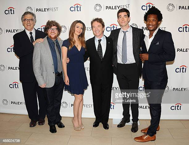 Actors Elliott Gould Zack Pearlman Nasim Pedrad Martin Short John Mulaney and Seaton Smith attend the Fox preview panel at the 2014 PaleyFest Fall TV...