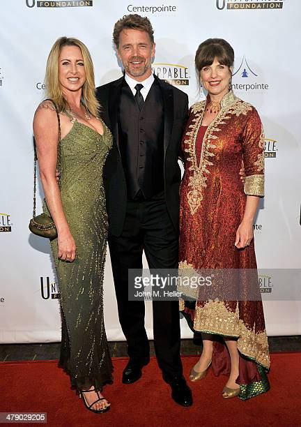 Actors Elly Castle John Schneider and author Cynthia Kersey attend the 5th Annual Unstoppable Gala at the Hyatt Regency Century Plaza Hotel on March...
