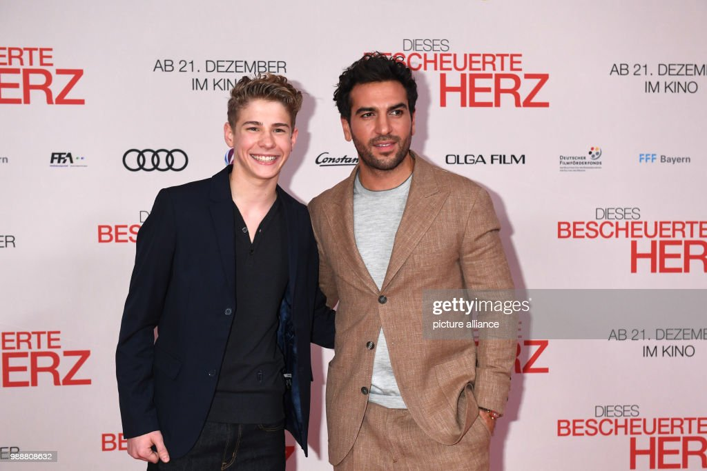 Actors Elyas MBarek R And Philip Noah Schwarz Arriving To The Wold