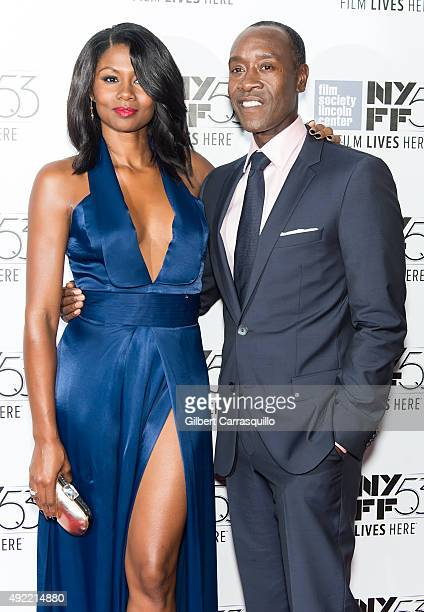 Actors Emayatzy E Corinealdi and Don Cheadle attend 53rd New York Film Festival Closing Night Gala Presentation Of 'Miles Ahead' at Alice Tully Hall...