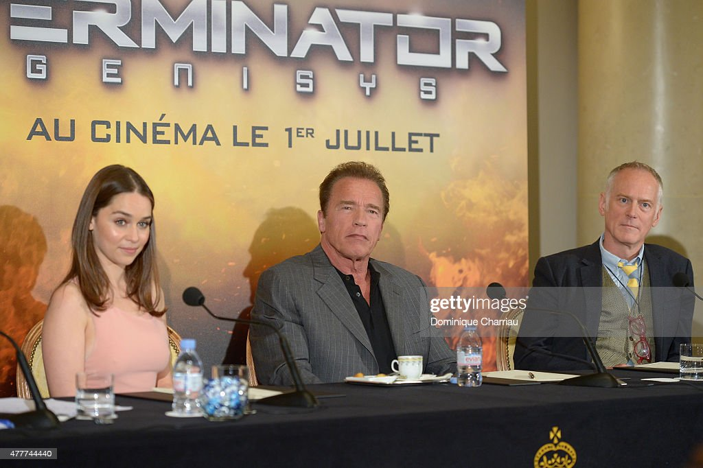 Terminator Genisys France Press Junket : News Photo