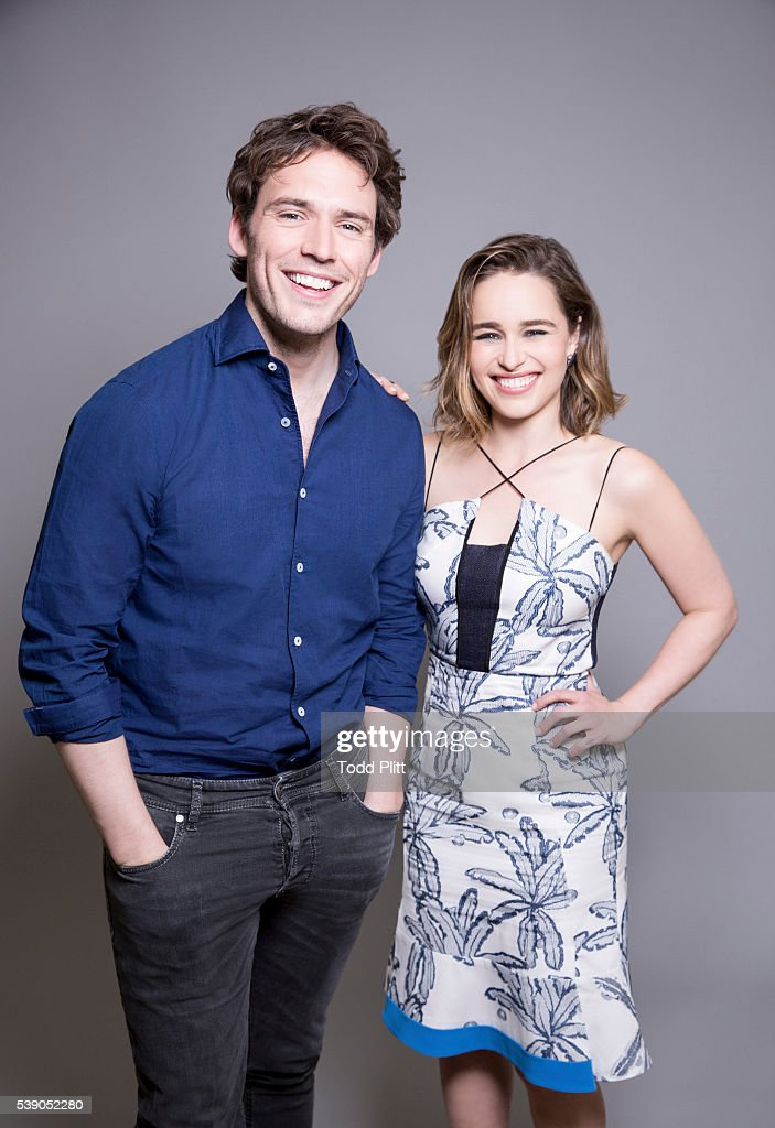 Emilia Clarke and Sam Claflin, USA Today, June 2, 2016