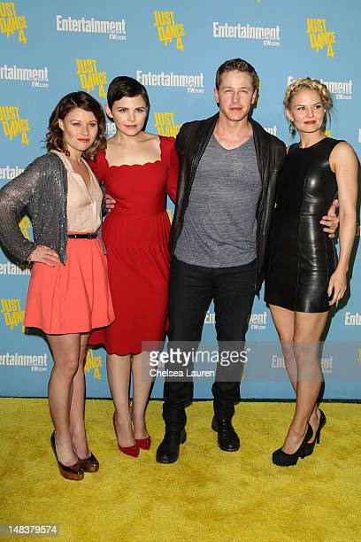 Actors Emilie de Ravin Ginnifer Goodwin Josh Dallas and Jennifer Morrison arrive at Entertainment Weekly's ComicCon celebration at Float at Hard Rock...