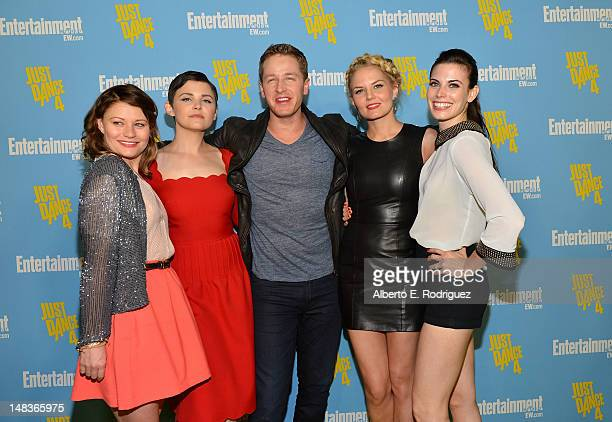 Actors Emilie de Ravin Ginnifer Goodwin Josh Dallas Jennifer Morrison and Meghan Ory attend Entertainment Weekly's 6th Annual ComicCon Celebration...