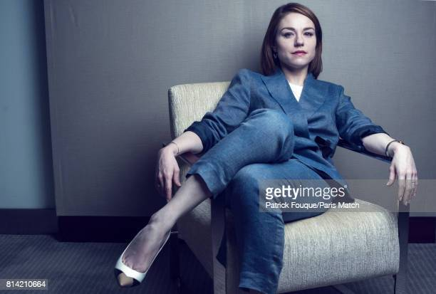 Actors Emilie Dequenne is photographed for Paris Match on June 23 2017 in Paris France