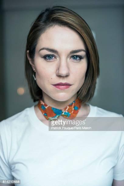 Actors Emilie Dequenne is photographed for Paris Match on June 23 2017 in Paris France