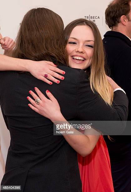 Actors Emily Meade and Rory Culkin attend the 2014 Tribeca Film Festival screening of 'Gabriel' at SVA Theater on April 17 2014 in New York City
