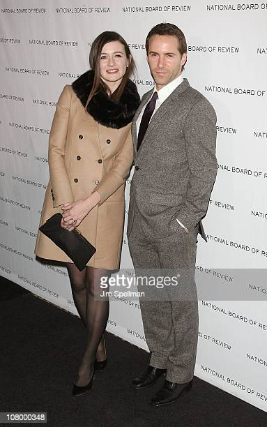Actors Emily Mortimer and Alessandro Nivola attend the 2011 National Board of Review of Motion Pictures Gala at Cipriani 42nd Street on January 11,...