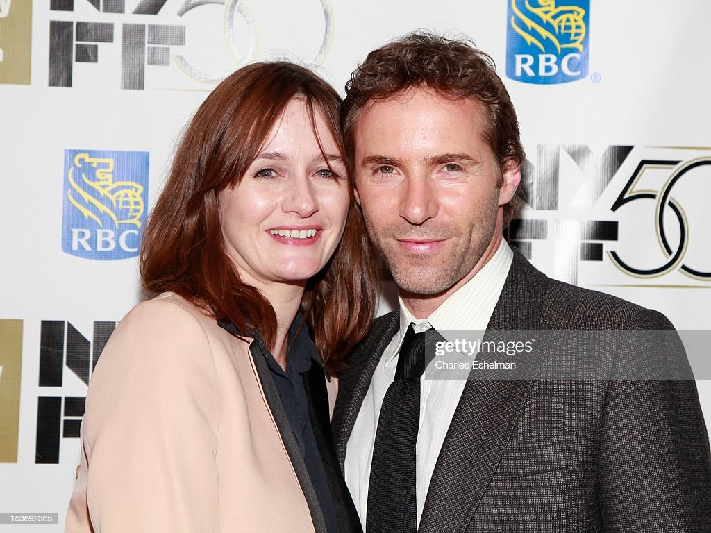 Actors Emily Mortimer and Alessandro Nivola attend the 'Ginger And Rosa' premiere during the 50th New York Film Festival at Alice Tully Hall at Lincoln Center on October 8, 2012 in New York City.