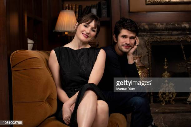 Actors Emily Mortimer and Ben Whishaw are photographed for Los Angeles Times on November 28 2018 in Beverly Hills California PUBLISHED IMAGE CREDIT...
