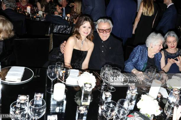 Actors Emily Mortimer and Harvey Keitel attend the Museum of Modern Art Film Benefit Presented by Chanel'A Tribute to Martin Scorsese at the Museum...