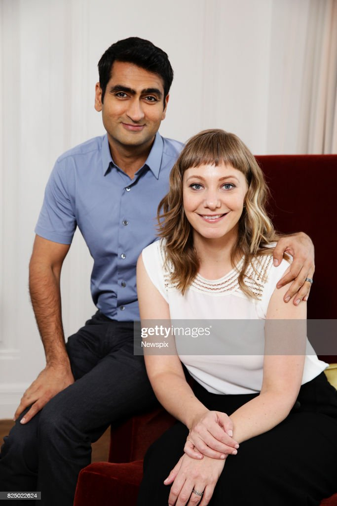 Kumail Nanjiani & Emily V. Gordon Portrait Shoot