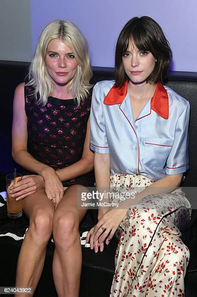 Actors Emma Greenwell and Stacy Martin attend as Marc Jacobs celebrates #MarcTheNight on November 17 2016 in New York City