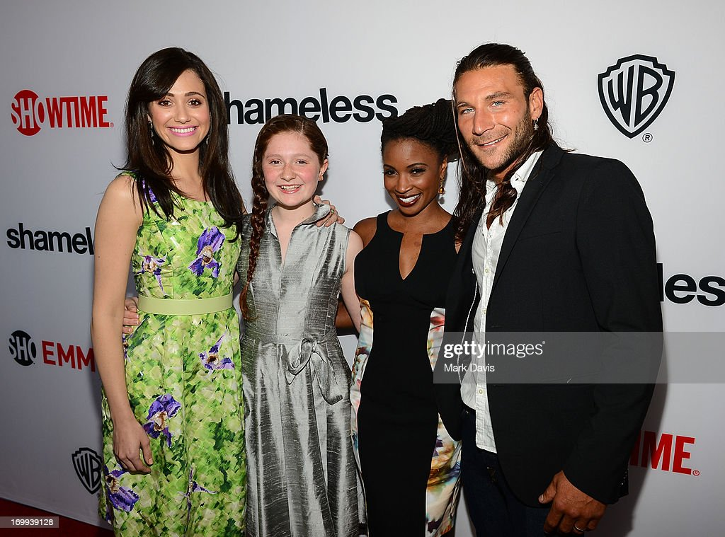 "Screening And Panel Discussion With Showtime's ""Shameless"" - Red Carpet : News Photo"