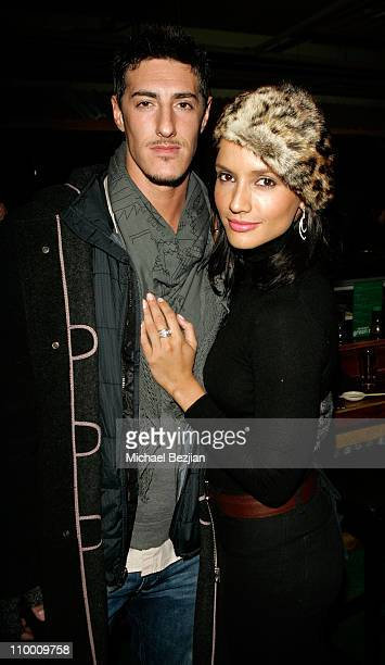 Actors Eric Balfour and Leonor Varela attend the Hell Ride party at The Heineken Green Room on January 21 2008 in Park City Utah