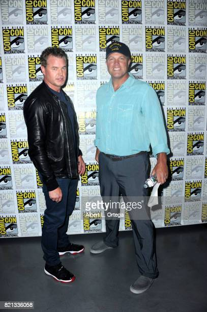 Actors Eric Dane and Adam Baldwin at TNT's 'The Last Ship' with Eric Dane panel and exclusive sneak peek for season 4 during ComicCon International...