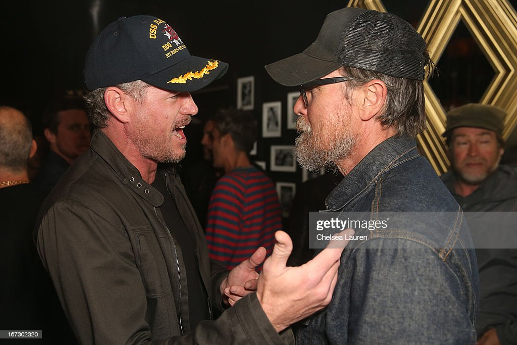 Actors Eric Dane and Richard Patrick attend the Balthazar