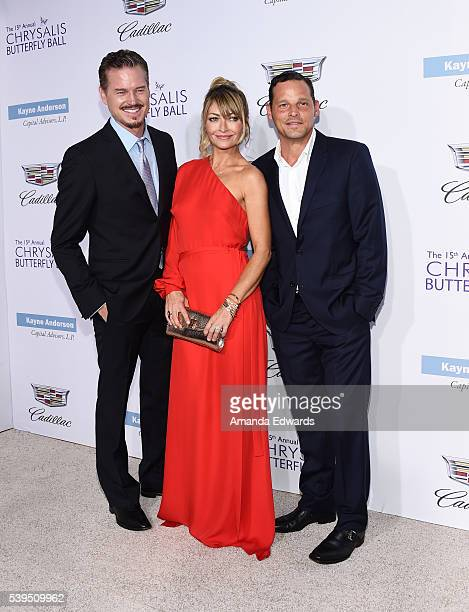 Actors Eric Dane Rebecca GayheartDane and Justin Chambers arrive at the 15th Annual Chrysalis Butterfly Ball on June 11 2016 in Brentwood California
