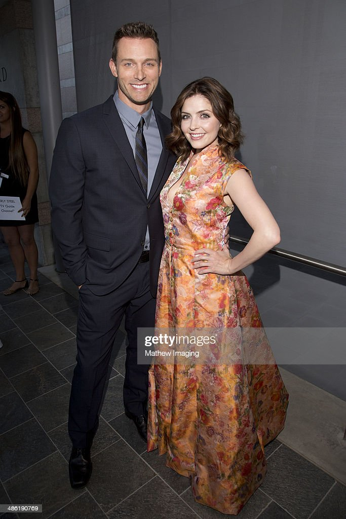 Actors Eric Martsolf and Jen Lilley arrive at the 18th Annual PRISM Awards at Skirball Cultural Center on April 22, 2014 in Los Angeles, California.