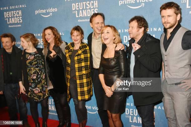 Actors Eric Metayer Jasmin Schwiers Episode 1 director Annette Ernst actresses Sophie Mounicot director /screenwriter Denis Dercourt MarieAnne Chazel...