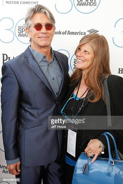 Actors Eric Roberts and Eliza Roberts attend the 2015 Film Independent Spirit Awards at Santa Monica Beach on February 21 2015 in Santa Monica...