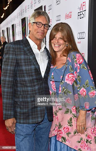 Actors Eric Roberts and Eliza Roberts attend the screening of Inherent Vice during AFI FEST 2014 presented by Audi at the Egyptian Theatre on...