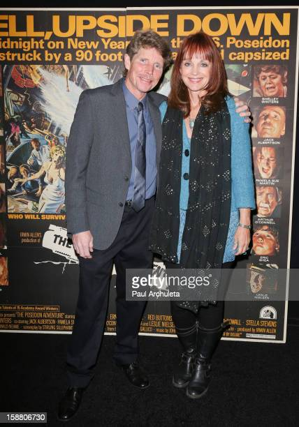 Actors Eric Shea and Pamela Sue Martin attend the screening for the 40th Anniversary of The Poseidon Adventure at the American Cinematheque's...
