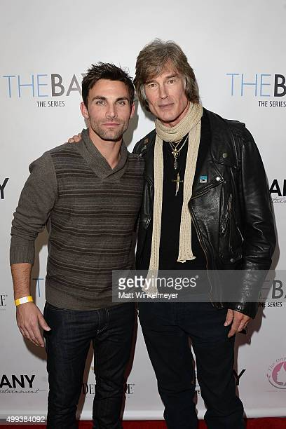 Actors Erik Fellows and Ronn Moss arrive at the screening of LANY Entertainment's The Bay at DOMA on November 30 2015 in Beverly Hills California