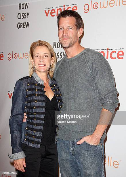 """Actors Erin J. O'Brien and James Denton arrive at the premiere of the play """"How Cissy Grew"""" at the El Portal Forum Theatre on October 18, 2008 in..."""
