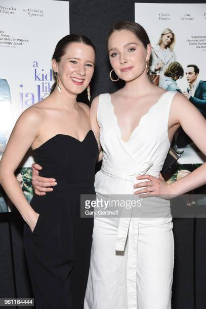 Actors Erin Kommor and Amy Forsyth attend A Kid Like Jake New York premiere at The Landmark at 57 West on May 21 2018 in New York City