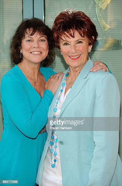"Actors Erin Moran and Marion Ross arrives at the Academy Of Television Arts & Sciences' ""Father's Day Salute To TV Dads"" on June 18, 2009 in North..."
