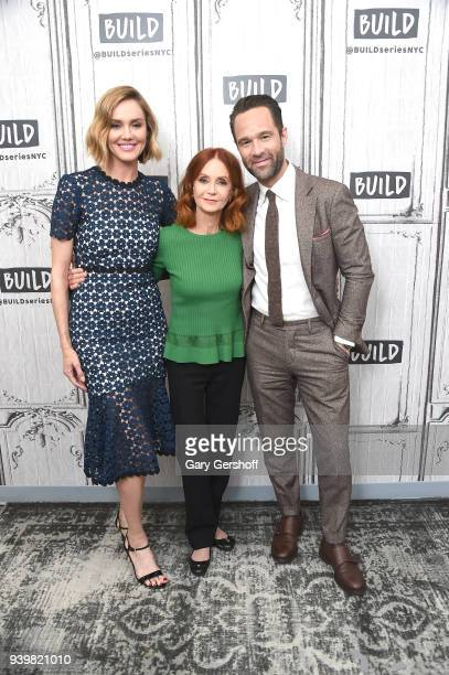 Actors Erinn Hayes Swoosie Kurtz and Chris Diamantopoulos visit Build Series to discuss the Amazon Prime web TV series 'The Dangerous Book for Boys'...