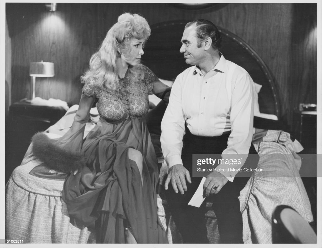 Actors Ernest Borgnine And Stella Stevens In A Scene From